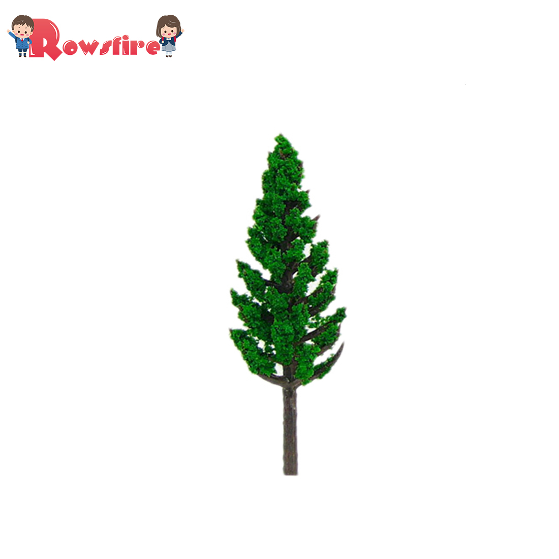 20Pcs 3.8/4.8/5.8/6.8/7.8/8.5/9.5/11/13/15/16cm Height Pine Tree Model Sand Table Scenery Building For Ho 1:85 Scale Toy Train