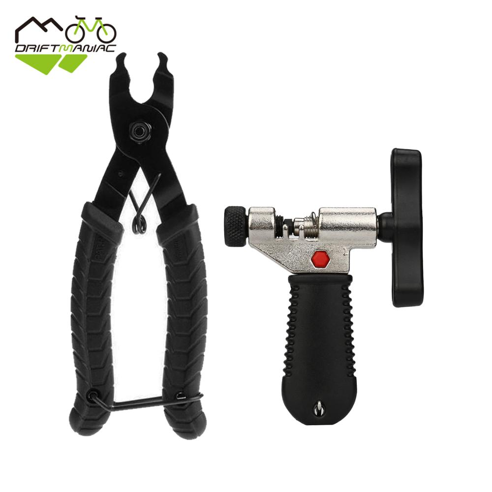 Bike Chain Master Link Plier Open Close Magic Chain Buckle Repair Tool With Chain Cutter Bicycle Repair Tool Kits