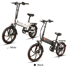 20 Inch Folding Electric Bike Power Assist Bicycle E-Bike Scooter 350W Motor Conjoined Rim