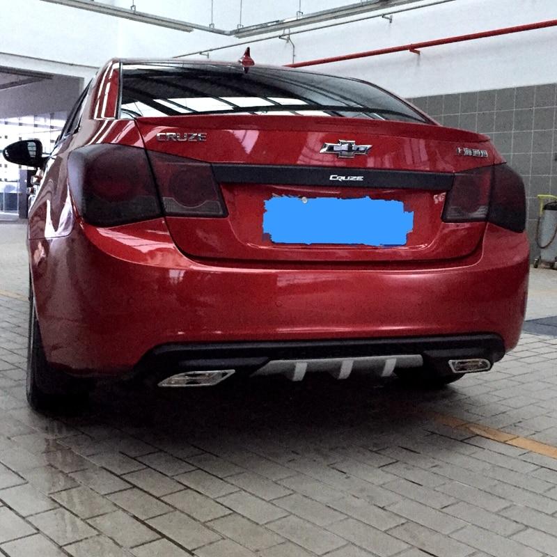 Plastic Chevrolet Cruze Sedan Rear Bumper Diffuser 2009-2013