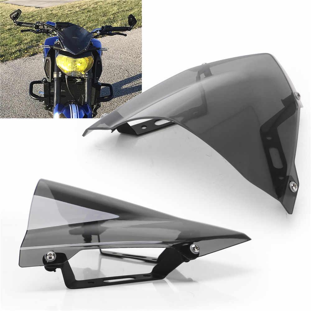Ветровое стекло для YAMAHA MT-07 FZ-07 2018 2020 2020 аксессуары для мотоциклов Pare-brise ветровые дефлекторы MT07 FZ07 MT FZ 07
