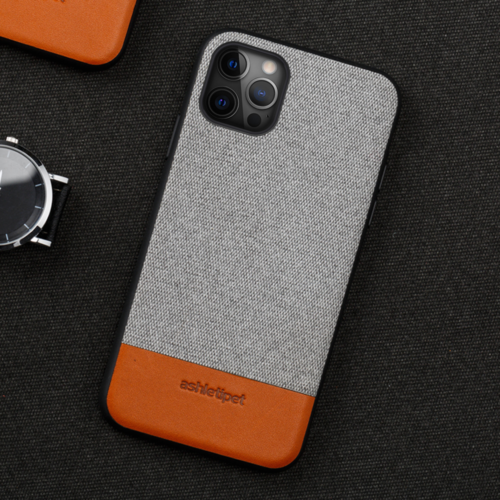 Canvas + Leather Phone Case For Iphone 12Pro 12 Pro Max 12 Mini 11 Pro Max X XR XS Max 5 5S 6 6S 7 8 Plus SE 2020 Magnetic Cover