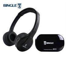 BINGLE – écouteurs sans fil B616, casque découte stéréo FM, Radio filaire, multifonction, transmetteur pour téléphones intelligents MP3 PC
