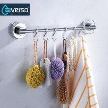 Everso Stainless Steel Cupboard Hanging Hook Kitchen Storage Organizer Holder Bedroom Bathroom Sundries