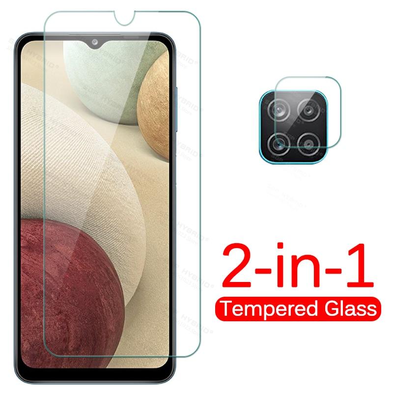 1-a-2 vidro da câmera para samsung a12 a11 a10 vidro protetor sobre para galaxya12 a 12 11 10 vidro claro da tela do telefone
