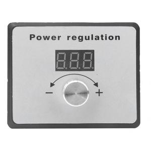 Image 5 - 10000W AC 220V SCR Regolatore di Tensione Dimmer Regolatore di Velocità del Motore Termostato Elettronico Regolatore di Tensione con Tester Digitale