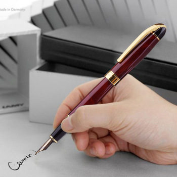 Luxury Metal Fountain Pen nice Roller Pen Office School Stationary Nibs for Fountain Pens 0.5mm Customized Logo Gift deli 2018 metal fountain pen school