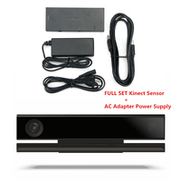 Kinect Movement Sensor For Xbox One S / X Windows PC Kinect Sensor 2.0 V2 + AC Adapter Power Supply Camera Motion Sensor