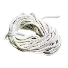 5mm 10 미터 100% 화이트 코튼 트위스트 코드 Multiuse Craft Macrame Artisan String DIY(China)