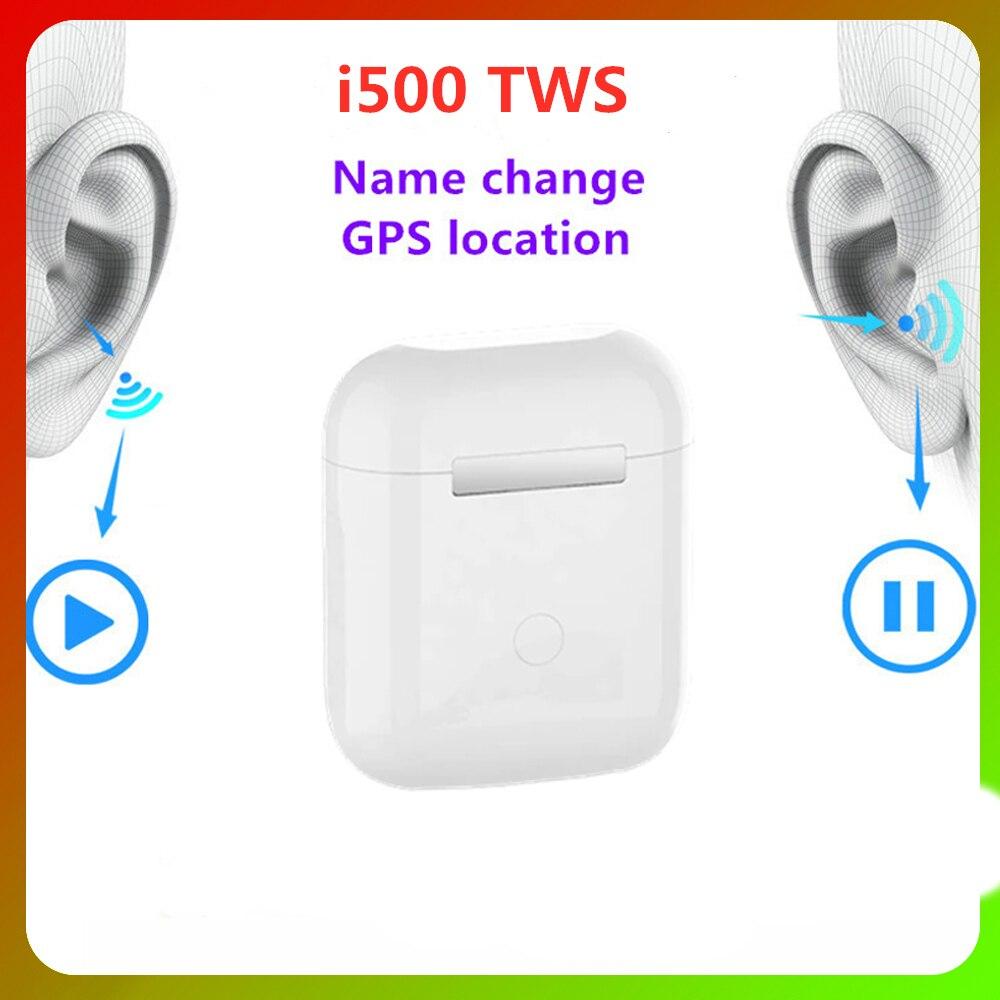 Новинка TWS Bluetooth I500 TWS гарнитура Bluetooth наушники 6D сабвуфер наушники I500 Android PK I30 I90 I000 Pro телефоны наушники