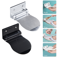 Bathroom-Products Wall-Mounted Step Shower-Footstool-Pedal Foldable Pedestal Foot-Rest