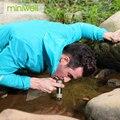 Filtre à eau extérieur Miniwell pour la randonnée  le camping  l'escalade