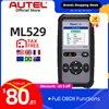 Autel Maxilink ML529 escáner de diagnóstico herramienta OBDII EOBD OBD2 Auto luz de control del motor de culpa lector de código con modo mejorado 6