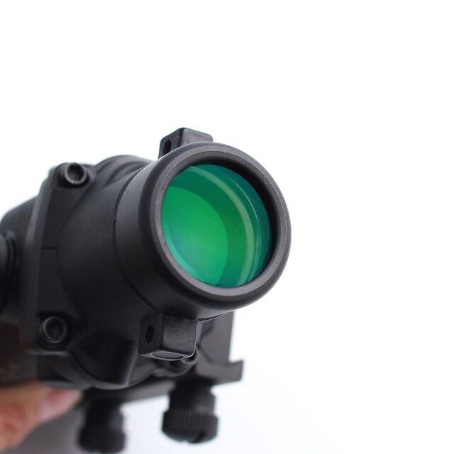 تكتيكي أكغ 3.5x35 نطاق البندقية ألياف حمراء وخضراء حقيقية نطاق شيفرون BAC شبكاني مشاهد بصرية ل كال. 223 .308