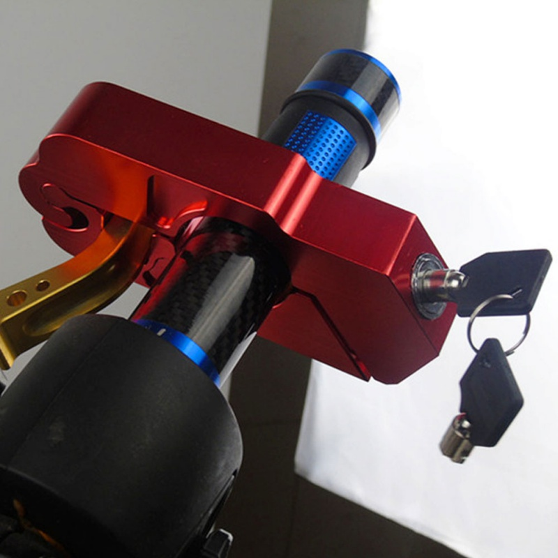 Universal Motorcycle Brake Clutch Levers Locks  Security Safety Locks CNC Handle Grip