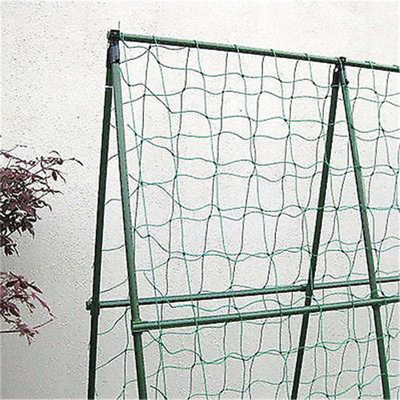 1.8X0.9M/ 1.8X1.8M Klimmen Bean Plant Netten Groeien Hek Tuin Groen Nylon Trellis Netting Ondersteuning