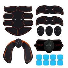 Электрический ABS беспроводной мышечные тренажеры, умный фитнес-тренажер для брюшного пресса, Электрический тренажер для тела, тренажер для живота, ног, рук, тренировки