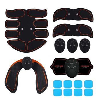 Elektryczne ABS bezprzewodowe symulatory mięśni inteligentny trening brzucha przyrząd treningowy elektryczne ciało Exerciser brzuch noga ramię trening tanie i dobre opinie Typu handheld A0132 Książka Mini power plate (ręczny typu) Electric Simulators Massage Belly Leg Arm Exercise Workout Home Fitness Equipment