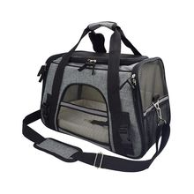 สัตว์เลี้ยงOutdoor Travelสัตว์เลี้ยงสุนัขPuppy Cat Breathable Carrierกระเป๋าถือสลิงปรับไหล่กระเป๋า