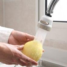 360 stopni obrotowy prysznic kran do łazienki Extender oszczędzania wody kran kuchenny głowy regulowany dysza filtra Splash kuchnia kran