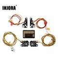 INJORA TRX4 RC передний и задний светодиодный фонарь для 1/10 RC Crawler Traxxas, Defender