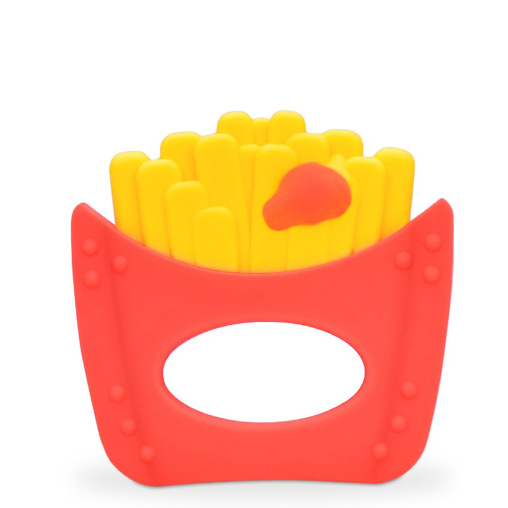 N117 1pc Bite Food Grade Silicone Baby Molars Toys With Bracelet Children's Gutta Percha Mordedor Pacifier Glue
