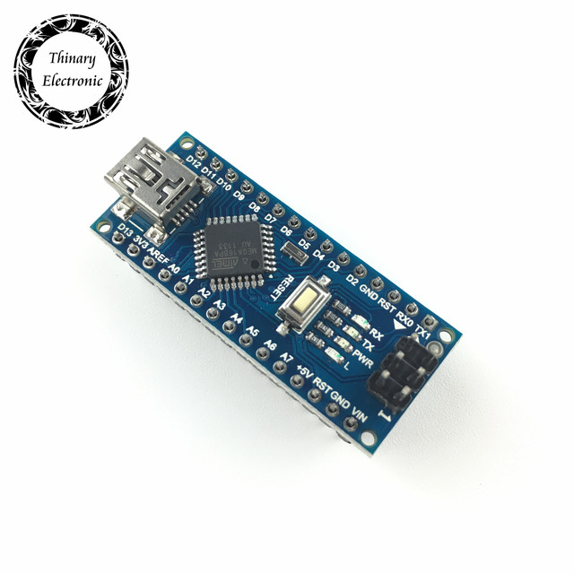 Thinary Nano Mini USB With the bootloader compatible Nano controller for arduino CH340 USB driver 16Mhz Nano ATMEGA168P 2