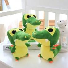 22cm cute crocodile plush toy soft cartoon animal childrens doll baby birthday gift