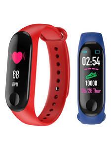Monitor Pedometer Wristband Watch-Blood-Pressure Smart-Heart-Rate