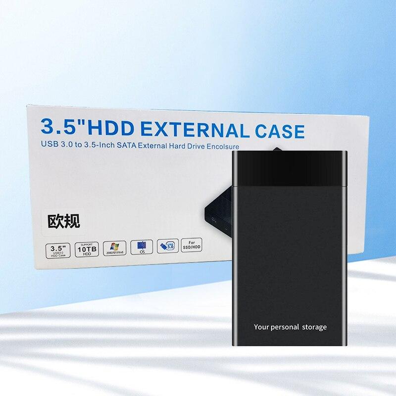 Чехол для внешнего жесткого диска 2,5/3,5 дюйма, USB 3,0-SATA, 480 Мбит/с