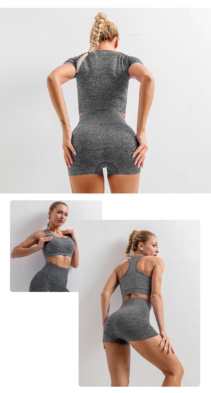 das mulheres roupas de yoga sem costura