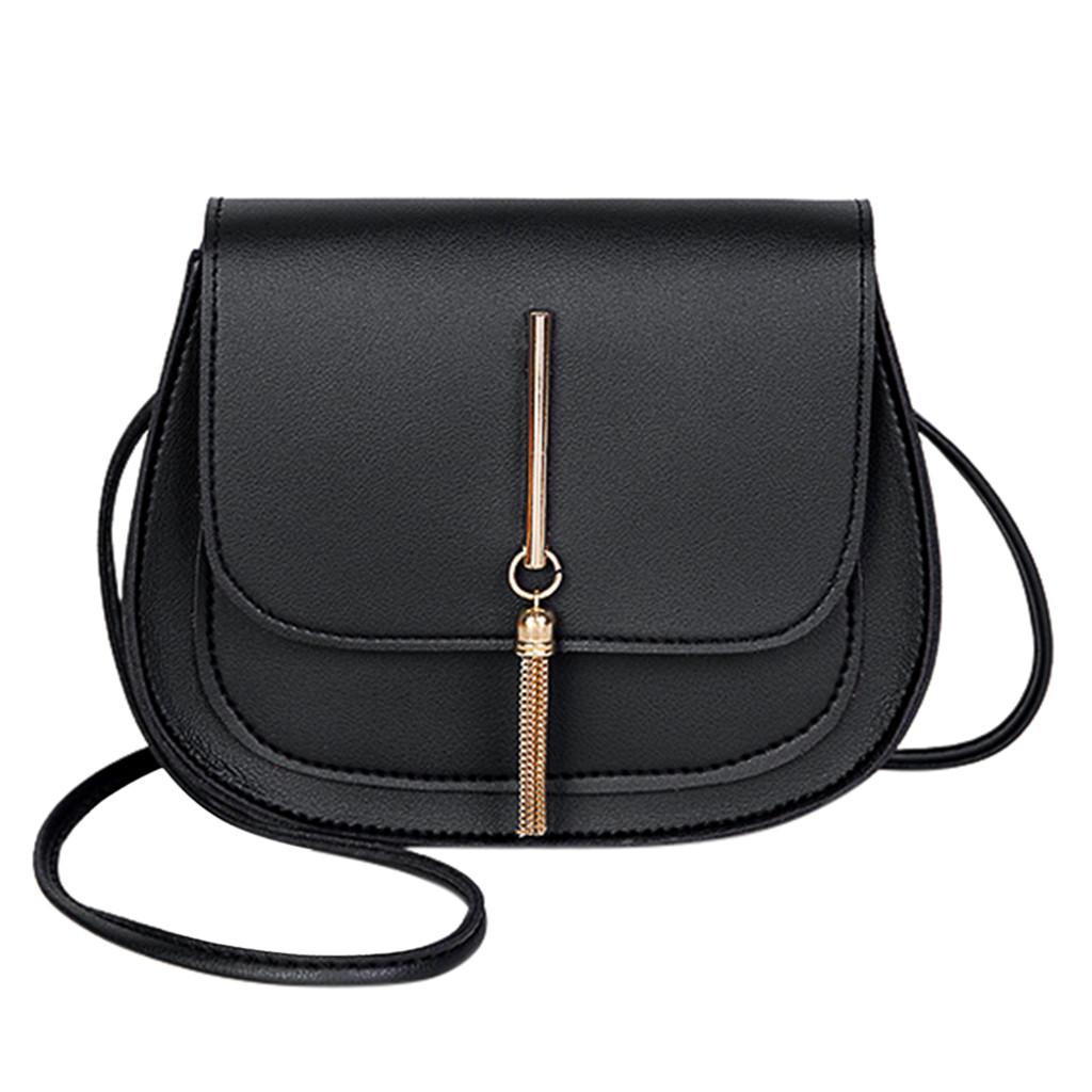 #25 Women Messenger Bags Woman Bag Famous Brands Women Fashion Solid Color Cover Lock Shoulder Crossbody Phone Beach Bag Sac