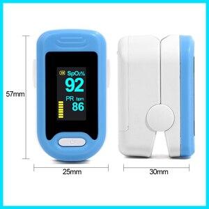 Image 5 - RZ الإصبع نبض مقياس التأكسج معدل المنزل ضغط الدم الرعاية الصحية CE OLED عرض الأكسجين إنذار الإعداد
