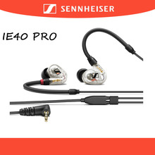 Earphones Headset Replaceable-Cable Wired Isolation Sport-Earbuds HIFI Sennheiser Ie40-Pro