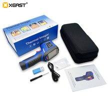 Новейший Xeast 2,4 дюймовый цветной экран, портативная тепловизор камера, инфракрасный термометр, XE-26, экономичный тепловизор