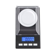 Цифровые весы с точностью в миллиграммах 50 г/0001 г Портативный