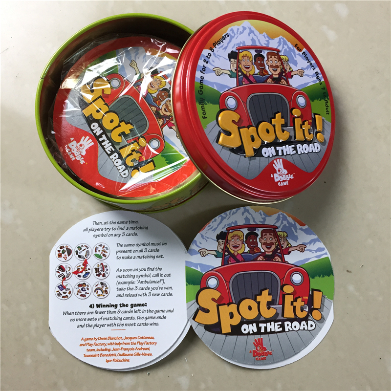 High Quality Spot Card Game Enjoy It For Family Gathering As Best Gift For Kids Dobble It Board Game
