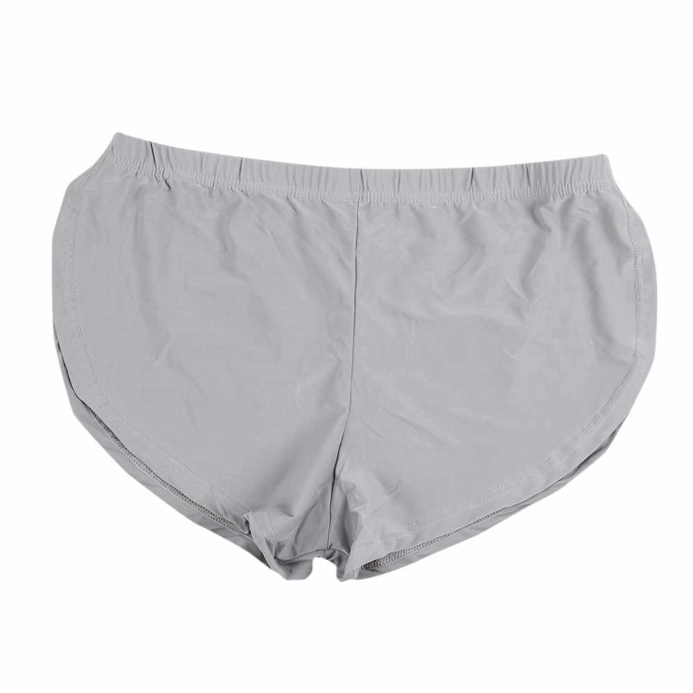 JAYCOSIN bielizna męska lato bokserki spodenki wygodne męskie etui kalesony bawełna mężczyzna stałe moda sport bielizna