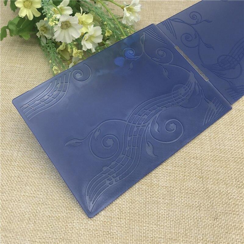 Note DIY Plastic Embossing Folders For DIY Scrapbooking Paper Craft/Card Making Decoration Supplies