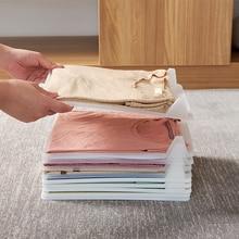 5 шт., 10 шт., волшебная папка для одежды для взрослых, футболки, джемперы, органайзер, складка, экономия времени, быстрая одежда, складная доска, держатель для одежды