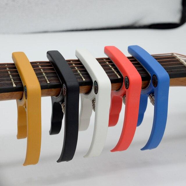 קאפו לגיטרה יוקללי חשמלית צוואר צבעוני לקניה בזול לוקו0ט