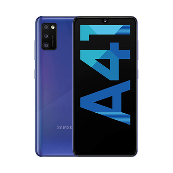 Перейти на Алиэкспресс и купить Samsung Galaxy A41 4 ГБ/64 ГБ синий (Призма давить синий) Dual SIM A415