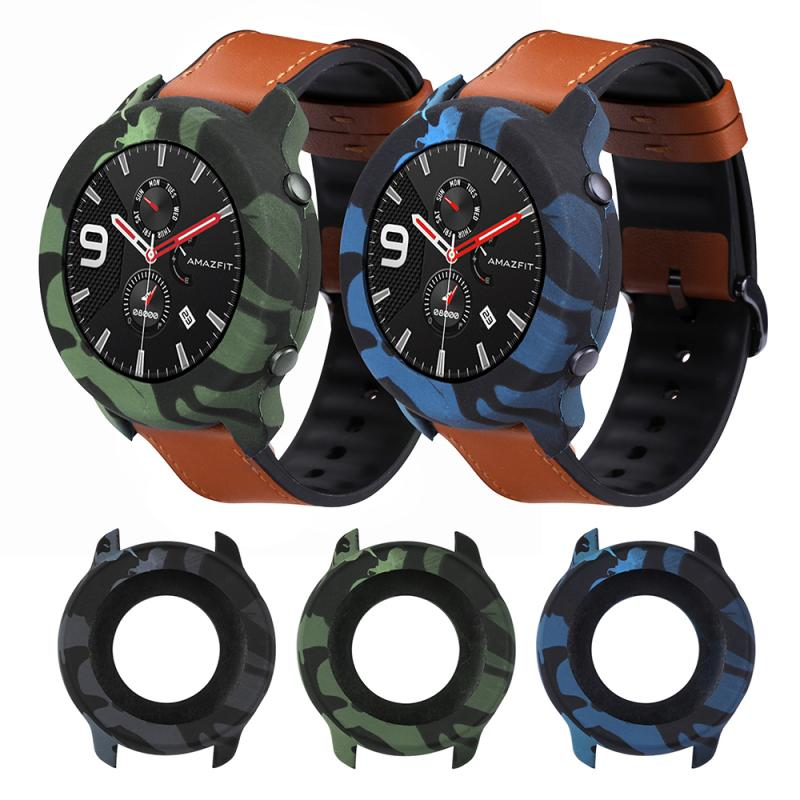 Watch Soft Edge Protector For Huami Amazfit GTR 47mm Men Sport Watch Protective Case Cover Shell Frame