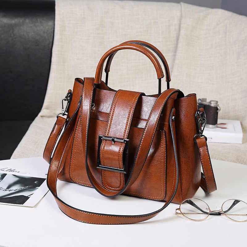Luxus Handtaschen Frauen Taschen Designer Echtem Leder Große Tote Tasche für Frauen Leder Handtaschen Schulter Crossbady Tasche Retro C1197