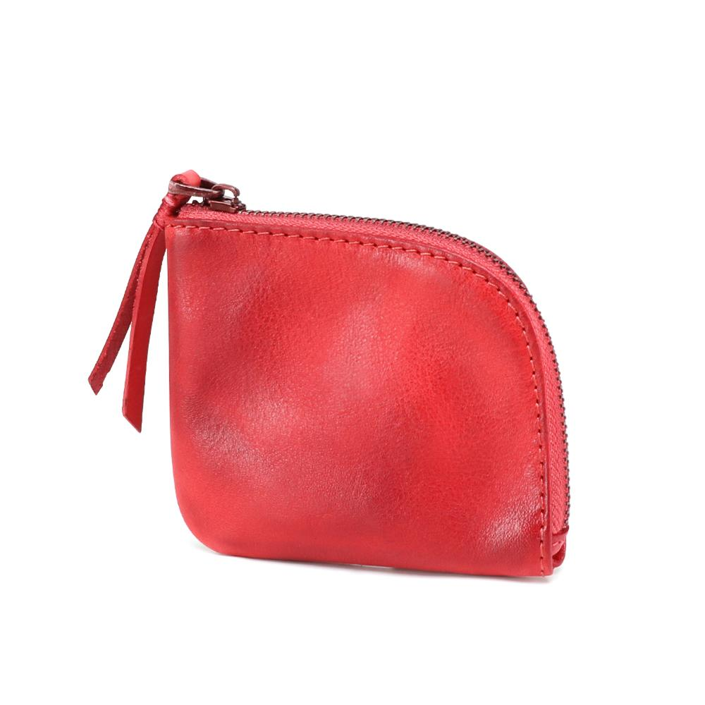 Unisex Change Wallet Genuine Leather Wallet Small Money Bag Credit Card Holder Coin Purse Mini Wallets Coin Purse Money Pouch