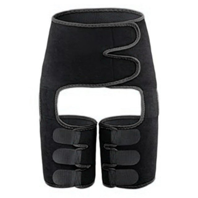 Waist Trainer Belt Slimming Body Shaper Belt Three-In-One Female Sweat Plastic Belt Sports Bodybuilding Adjustable Waist Belt 2