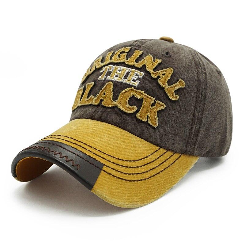 ililily Batman Embroidery Vintage Baseball Cap Cotton Casual Trucker Hat