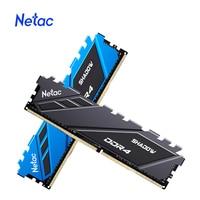 Netac de Memoria RAM DDR4 16gb 8 gb Memoria RAM DDR4 3200mhz DDR4 RGB 3600mhz 2666mhz XMP 288pin para AMD entre la placa base