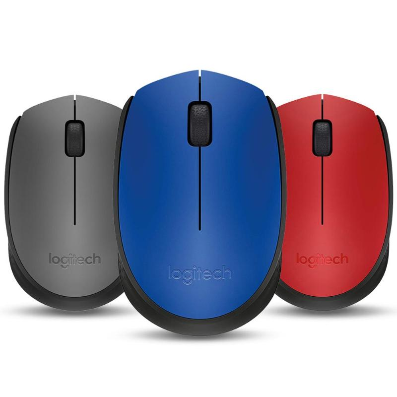 Logitech M170 2.4GHz Wireless Mouse 1000 DPI With Nano Receiver For PC Suitable For Business Comfort  Mobile And Portable