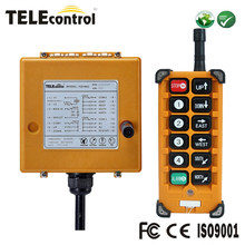 Telecontrol 8 Single speed push buttons Wireless industrial remote control system F23-A++